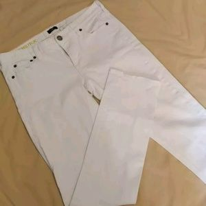 J. Crew Women's Matchstick White Skinny Jeans
